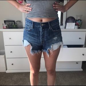 Free People Good Vibrations Shorts